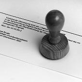 Beglaubigung von Urkunden